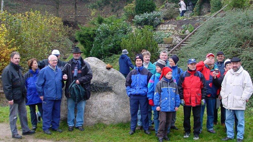 2002 Winterwanderung des RSV Falkenfels