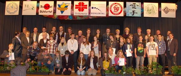 2012 Sportlerehrung der Gemeinde Bühlertal
