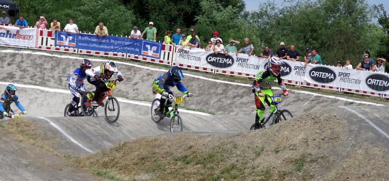 Süddeutsche BMX-Meisterschaft in Ingersheim