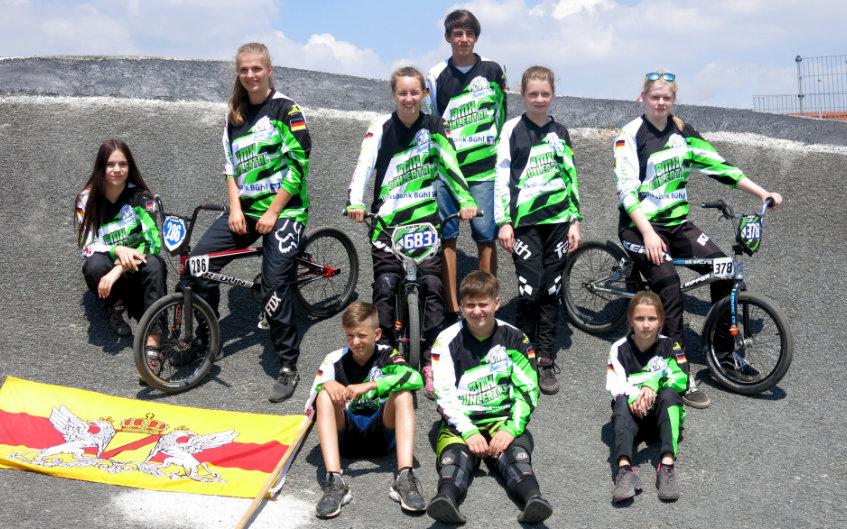 Bühlertäler mischen bei der deutschen BMX-Elite mit