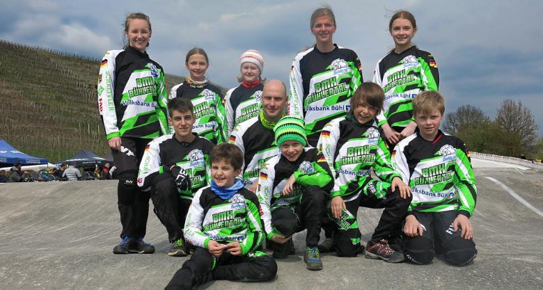 Bühlertäler erfolgreich bei BMX-Landesmeisterschaften