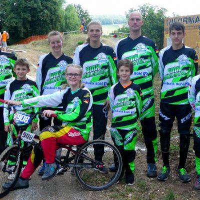 BMX Gruppenfoto