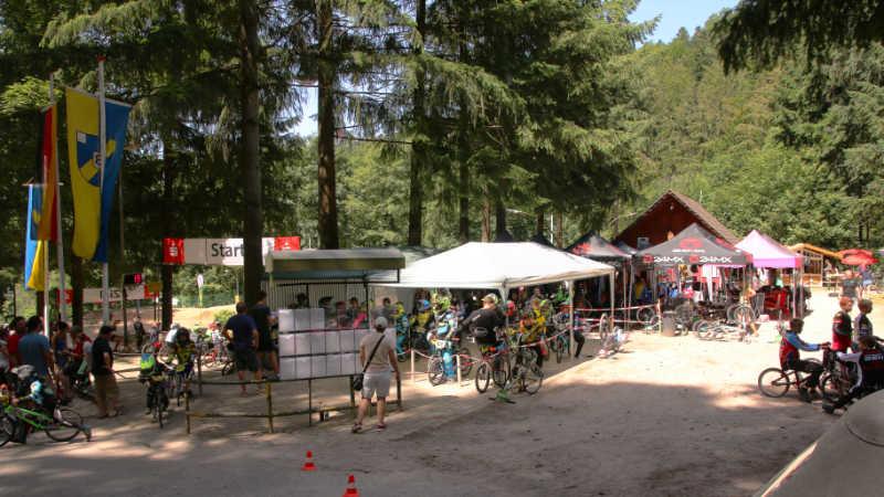 Heiße Rennen in der Hirschbach