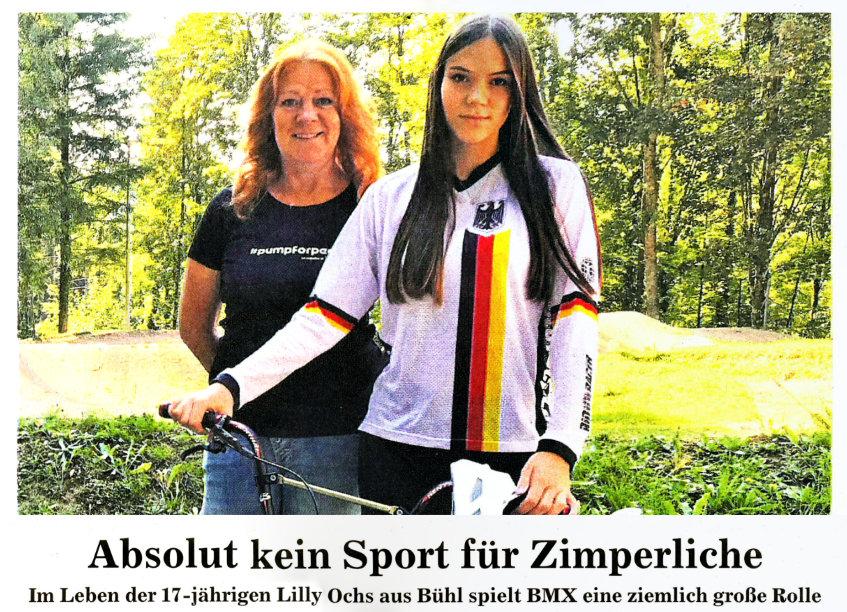 In Bühlertal begann Lilly Ochs ihre Sportkarriere