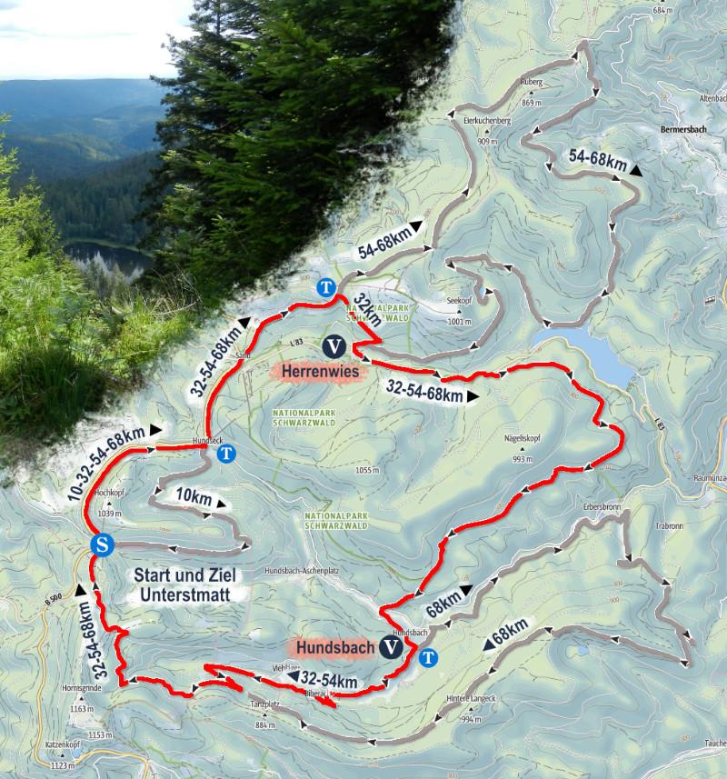 Strecke 32km