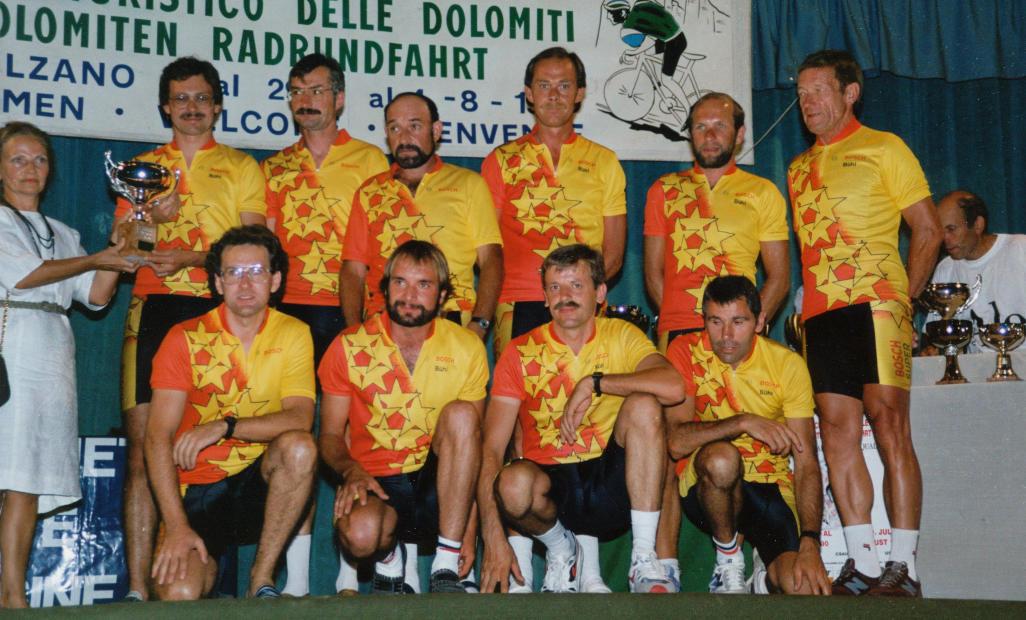 1990 Strapazenreiche Dolomitenfahrt