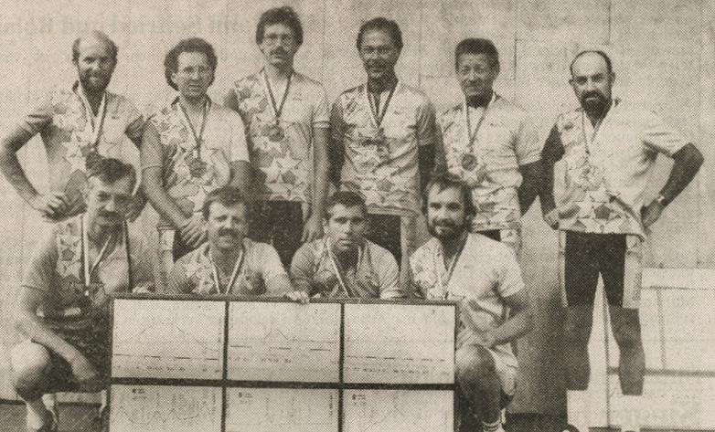 Gruppenfoto Giro delle Dolomiti