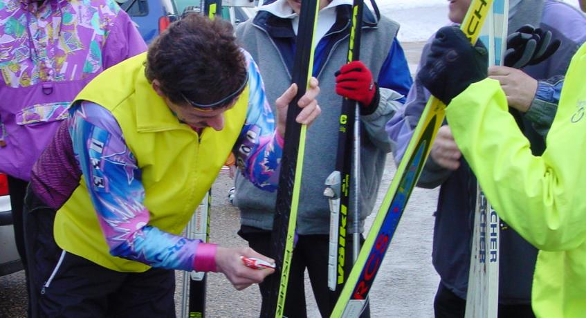 2003 Langlauftour im Bühler Höhengebiet